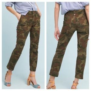 ANTHROPOLOGIE THE WANDERER CAMO UTILITY PA…